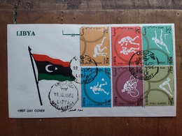 LIBIA 1964 - F.D.C. Sport + Spese Postali - Libye