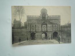 LILLE 1905 LA PORTE DE ROUBAIX N 60 DOS DIVISE   CIRCULEE  ETAT BON - Lille