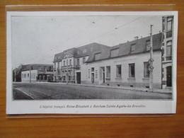 1935  BERCHEM SAINTE AGATHE LEZ BRUXELLES   - L' Hopital Français   - Coupure De Presse Originale (encart Photo) - Documents Historiques