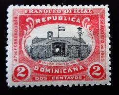 1902 République Dominicaine Mi D1 , Sn 01 .Stronghold Timbre De Service ;  Neuf Trace Charnière - Dominicaine (République)