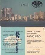 TARJETA TELEFONICA DE CUBA (LA PLAZA DE LA REVOLUCIÓN) (312) - Cuba