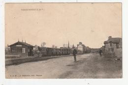 PLEUGUENEUC - LA GARE - TRAIN - 35 - France