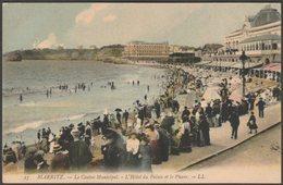 Le Casino Municipal, L'Hôtel Du Palais Et Le Phare, Biarritz, C.1905 - Lévy CPA LL25 - Biarritz