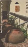 TARJETA TELEFONICA DE CUBA (LOS TINAJONES DE CAMAGÜEY) (333) - Cuba