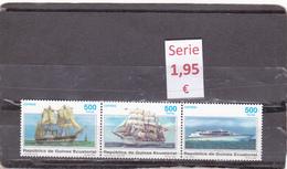 Guinea Ecuatorial  -  Serie Completa Nueva** (Barcos Transportes - Transport Boats)  - 1/249 - Guinea Ecuatorial