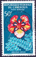 Karemun - Flamboyant (Delonix Regia) (Mi.Nr.: 467) 1966 - Gest Used Obl - Cameroun (1960-...)