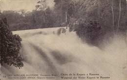 RUANDA-URUNDI 1918:PWS/E.P./P.St. - ILLUSTR.**nr 44 – 5 C.: RIVIERE,RIVER,GEOLOGY,WATERVAL,CHUTE,WATERFALL,FORËT,FOREST, - Entiers Postaux