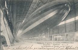 CPA - France - (83) Var - Cuers - Dirigeable Dixmude - Le Dirigeable Au Hangar, Vue Par L'avant - Cuers
