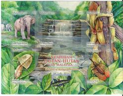 Malaysia - 2013 - Wonders Of Malaysian Forest - Self Adhesive - MNH. - Malaysia (1964-...)