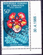 Karemun - Flamboyant (Delonix Regia) (Mi.Nr.: 467) 1966 - Gest Used Obl   !!!! Coins Datés - Cameroun (1960-...)