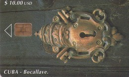 TARJETA TELEFONICA DE CUBA (BOCALLAVE) (339) - Cuba
