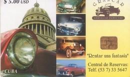 TARJETA TELEFONICA DE CUBA (COCHES) (330) - Cuba