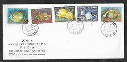 ETHIOPIA F.D.C. FIRST DAY ISSUE 1970 ASSAB FISH - Etiopia