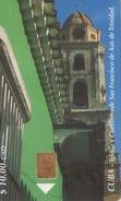 TARJETA TELEFONICA DE CUBA (IGLESIA Y CONVENTO DE SAN FRANCISCO DE ASIS) (324) - Cuba