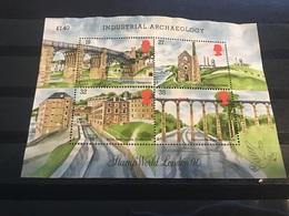 Groot-Brittannië / Great Britain - Sheet Industriële Archeologie 1989 - Gebruikt