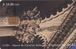 TARJETA TELEFONICA DE CUBA (MUSEO DE CIENCIAS NATURALES, CAPITEL) (315) - Cuba