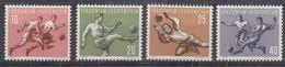 Liechtenstein 1954 Sport I Football 4v ** Mnh (41664) - Liechtenstein