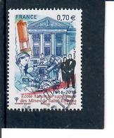 Yt 5066 Ecole Superieure Des Mines De St Etienne-cachet Rond - France