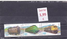 Guinea Ecuatorial  -  Serie Completa Nueva** (Trenes Ferrocarriles - Railway Trains)  - 1/264 - Guinea Ecuatorial