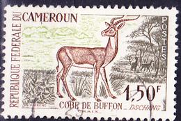 Kamerun - Moorantilope (Kobus Kob) (Mi.Nr.: 357) 1962 - Gest Used Obl - Cameroun (1960-...)