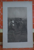 Foto Pugilato Tra Amici Italia  Cartolina Fotografica Formato Piccolo - Boxing