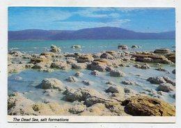 ISRAEL - AK 342383 The Dead Sea - Salt Formations - Israel