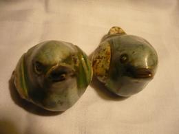 Paar Vögel  (731BW) - Cerámica Y Alfarerías