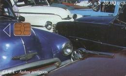 TARJETA TELEFONICA DE CUBA (COCHES) (296) - Cuba