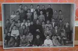 Foto Di Classe  Maschile Italia Cartolina Fotografica Formato Piccolo - Fotografia