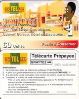 MALI - Village, Sotelma Prepaid Card 60 Units(CN Over The Line), Used - Mali