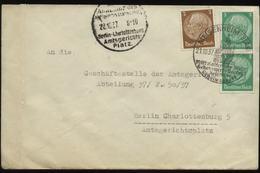 S0311 DR Brief :gebraucht Mit Sonderstempel Meisenheim - Berlin Amtsgericht 1937 , Bedarfserhaltung. - Allemagne