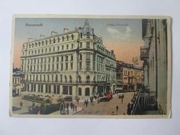 Bucuresti/Bucharest-Calea Victoriei,Romanian Unused Postcard From 1932 - Rumänien