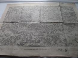 Environ De LAON - Tirage Sept 1883 - Schaal / Echelle / Scale 1: 80.000 - Imp Zincographique ( Voir / Zie Photo) - Cartes Géographiques