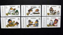 """Alderney 598/603 **/mnh, Figuren Aus Der Kinderbuchreihe """"Die Wombles"""" Von Elisabeth Beresford (1926-2010) - Alderney"""