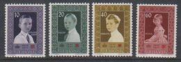 Liechtenstein 1955 Rotes Kreus 4v ** Mnh (41664G) - Liechtenstein