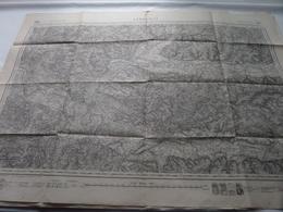 LIBOURNE ( 181 ) Schaal / Echelle / Scale 1: 80.000 ( Rousset / Hacq / Delsot ) - ( Voir / Zie Photo) - Cartes Géographiques
