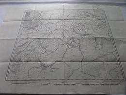 MULHOUSE ( Flle 20 ) Schaal / Echelle / Scale 1: 320.000 ( Thierry / Hacq / Dandeleux ) - ( Voir / Zie Photo) - Geographical Maps
