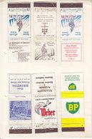 COLLECTION DE POCHETTE D'ALUMETTES - REGIONALE ET SUISSE - V/IMAGE - 30PC - Boites D'allumettes - Etiquettes