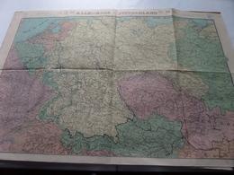 ALLEMAGNE - DUITSCHLAND Schaal / Echelle / Scale 1/15.00.000 ( Edit STAR Liège ) - ( Voir / Zie Photo) - Cartes Géographiques