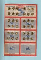 BOUTONS PRESSION - Carte Complète De 36 Boutons Dorés - Marque SPRING PRESS STUD - Voir Photos Face & Dos - Boutons