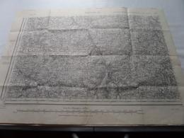 AUBUSSON S.O. Type 1889 - 156 / Schaal / Echelle / Scale 1/50.000 ( Révisée 1906 ) - ( Voir / Zie Photo) - Carte Geographique