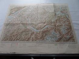BERNE ( Flle N° 42 Bis ) Schaal / Echelle / Scale 1/200.000 ( Voir / Zie Photo) - Carte Geographique