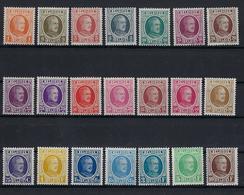 N°190/210 MNH ** POSTFRIS ZONDER SCHARNIER COB € 475,00 SUPERBE - 1922-1927 Houyoux