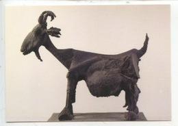 Pablo Picasso 1881/1973 - La Chèvre 1950 - Paris Grand Palais Oeuvre Reçue En Droits De Succession (cp Vierge) - Peintures & Tableaux