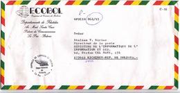 1993 , Bolivie  To Moldova , Used Cover - Bolivia