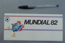 011, Transports Aviation Commerciale, Air France - Football Mondial Mundial 82 1982 Espagne -  Pochette Pour Billet - Pl - Aviation Commerciale