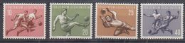 Liechtenstein 1954 Sport I Football 4v * Mh (= Mint, Hinged) (41665) - Liechtenstein