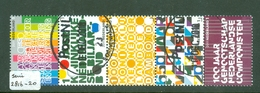 NEDERLAND * 2011 * Serie NVPH 2816 - 2820 *  POSTFRIS GESTEMPELD - Period 1980-... (Beatrix)