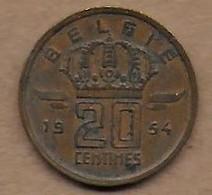 20 Centimes 1954 FL - 01. 20 Centimes