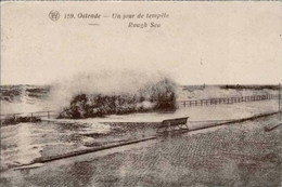 OSTENDE-OOSTENDE - Un Jour De Tempête - Oblitération De 1933 - Oostende